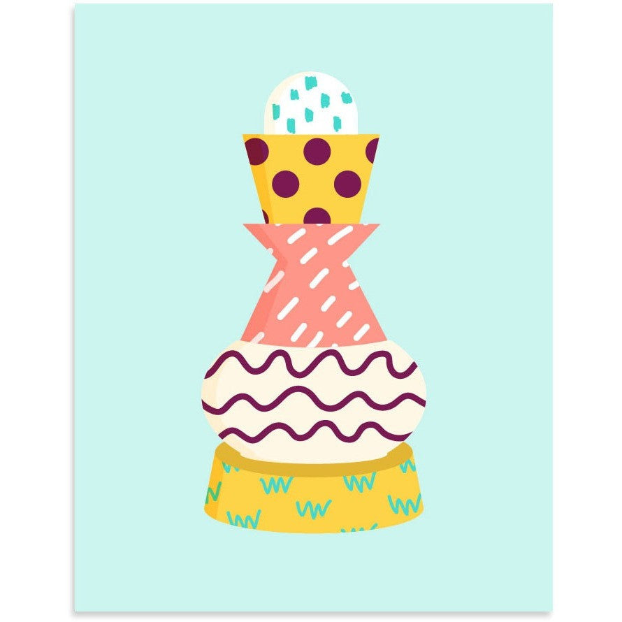 Pattern Totem by PCP Collection-Print-Poster Child Prints