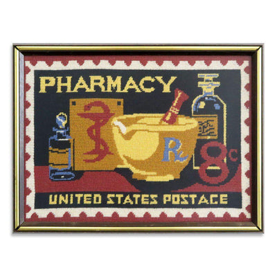 Pharmacy United States Postage by Found Art | Found Art | Poster Child Prints