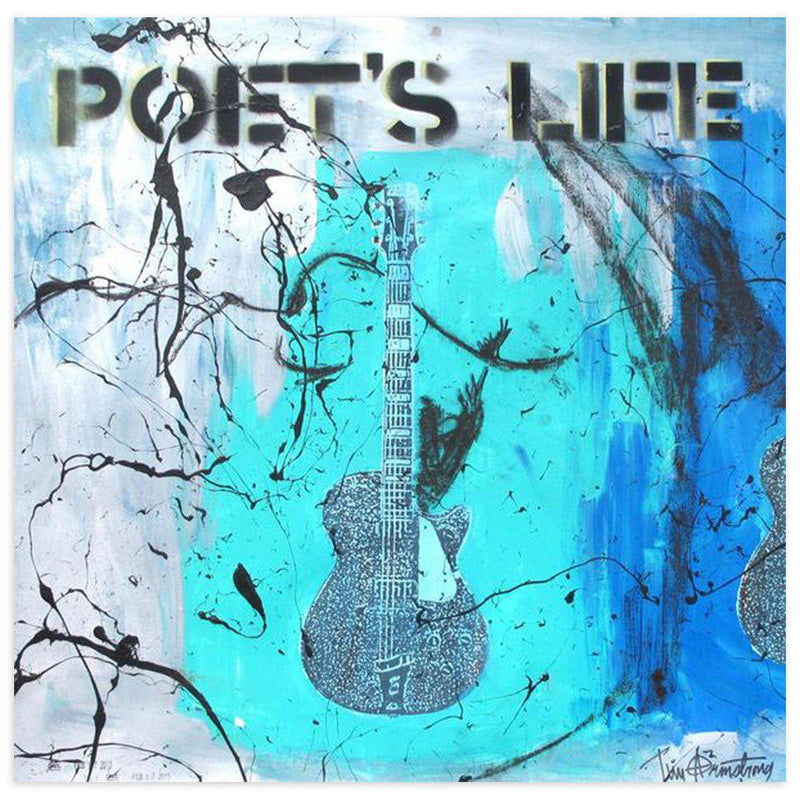 Poets Life by Tim Armstrong | Original Artwork | Poster Child Prints