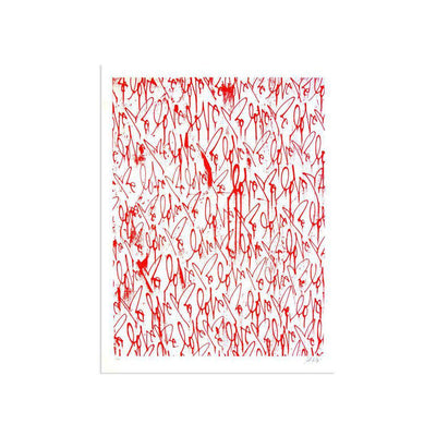 Love Me, Red Friday (MINI) by Curtis Kulig | Print | Poster Child Prints