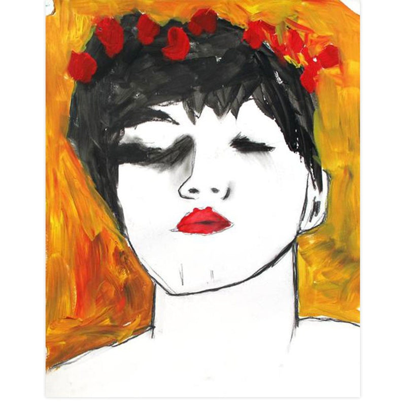 Rose Crown by Tim Armstrong | Original Artwork | Poster Child Prints