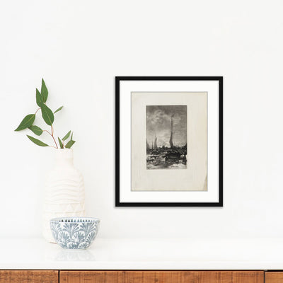 Sailboats | Poster Child Prints | Found Art | One of a Kind