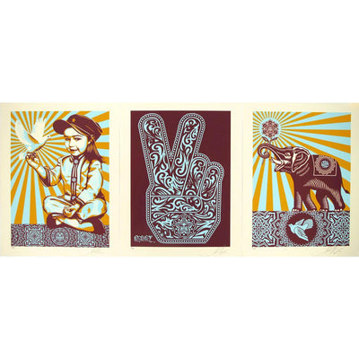 OBEY Peace Series by Shepard Fairey | Archive | Poster Child Prints