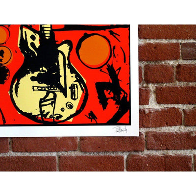 Tim Armstrong | Poster Child Prints | Vera's Guitar (Color Edition)