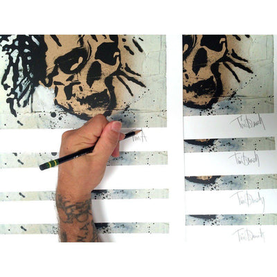 Golden Skull by Tim Armstrong | Archive | Poster Child Prints