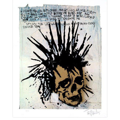 Golden Skull, Tim Armstrong | Poster Child Prints