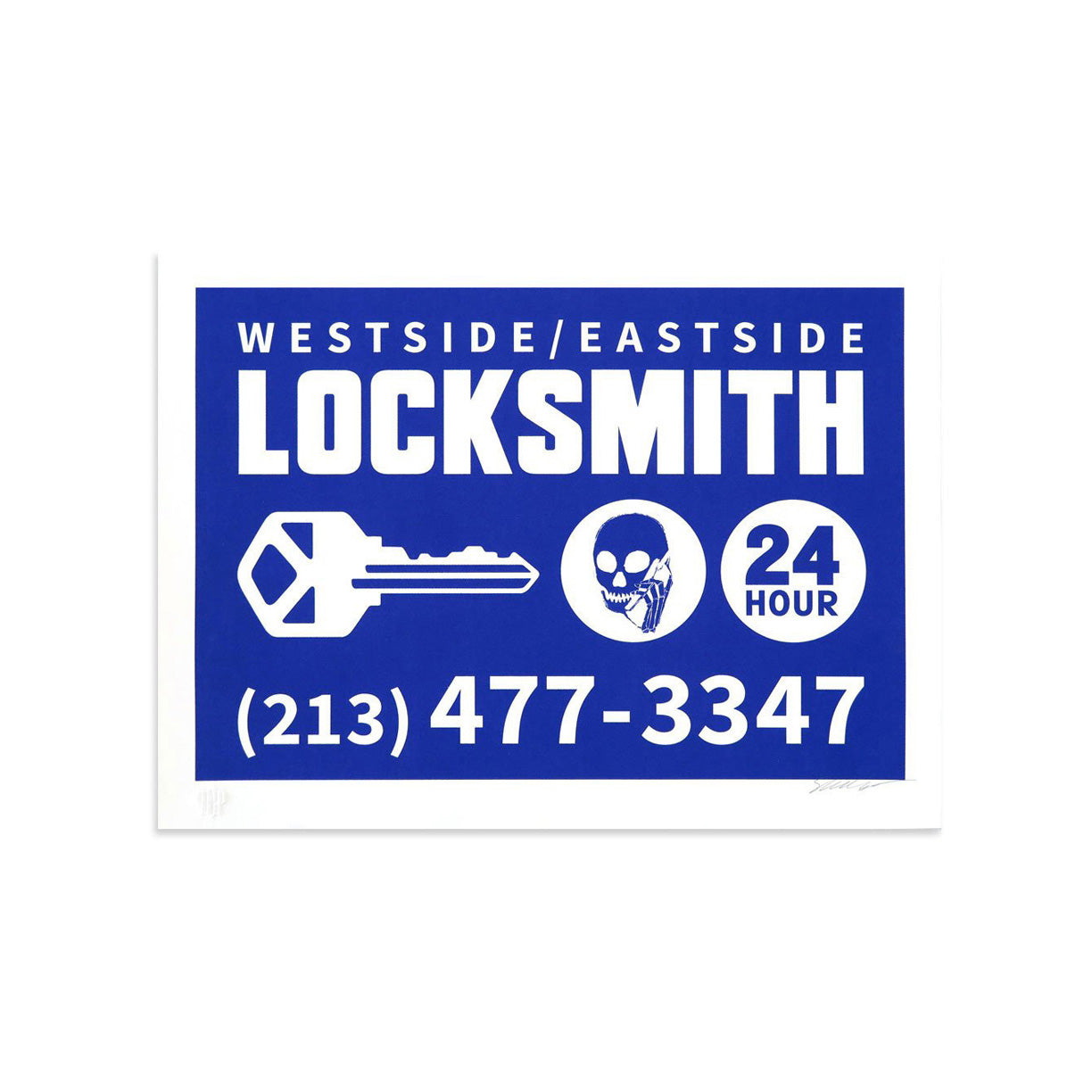 Locksmith by Skullphone | Print | Poster Child Prints