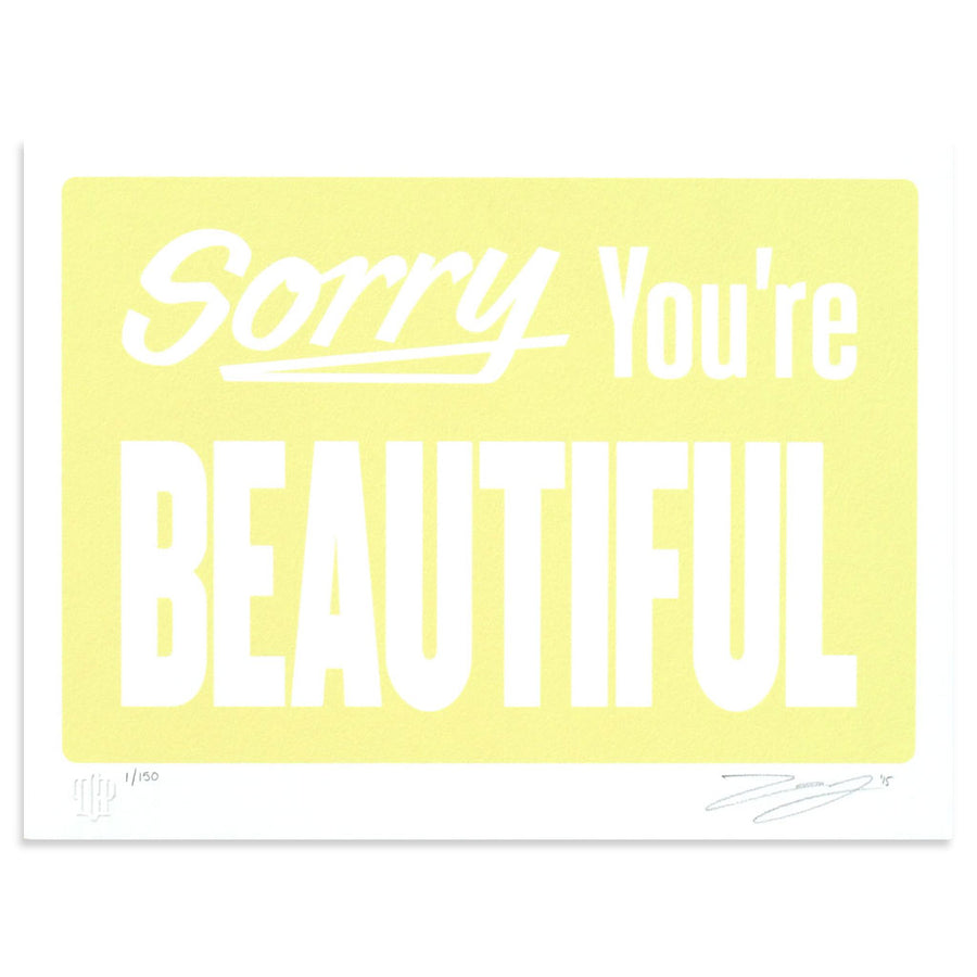 Sorry Your're Beautiful