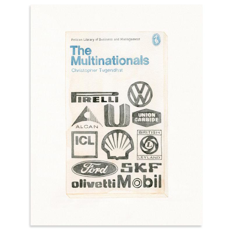 The Multinationals by Meghann Stephenson-Original Artwork-Poster Child Prints