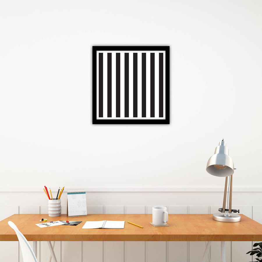 Stripe Repetition | Stripes | Black & White Art | PCP Collection