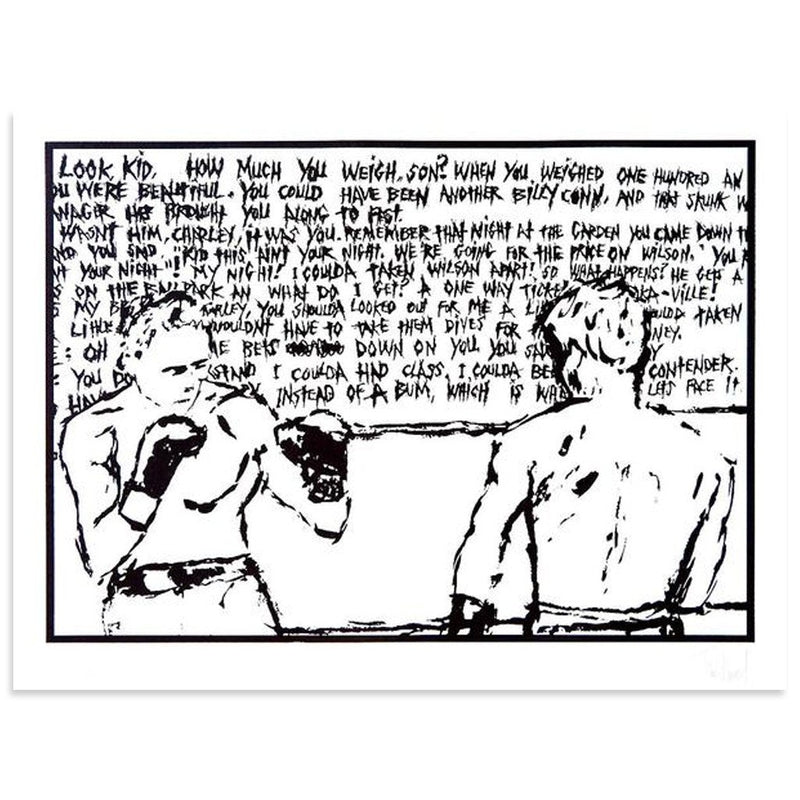 The Contender by Tim Armstrong | Archive | Poster Child Prints