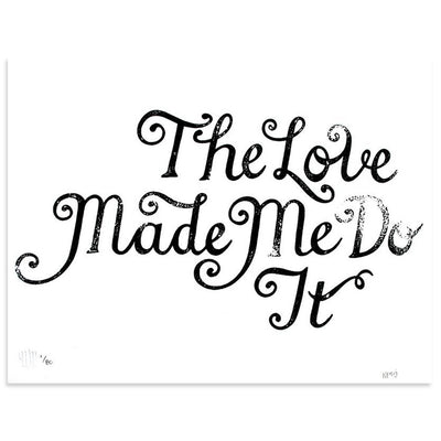 The Love by Poster Child Prints | Print | Poster Child Prints