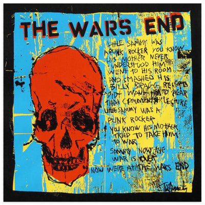 The Wars End, Red Skull by Tim Armstrong | Archive | Poster Child Prints
