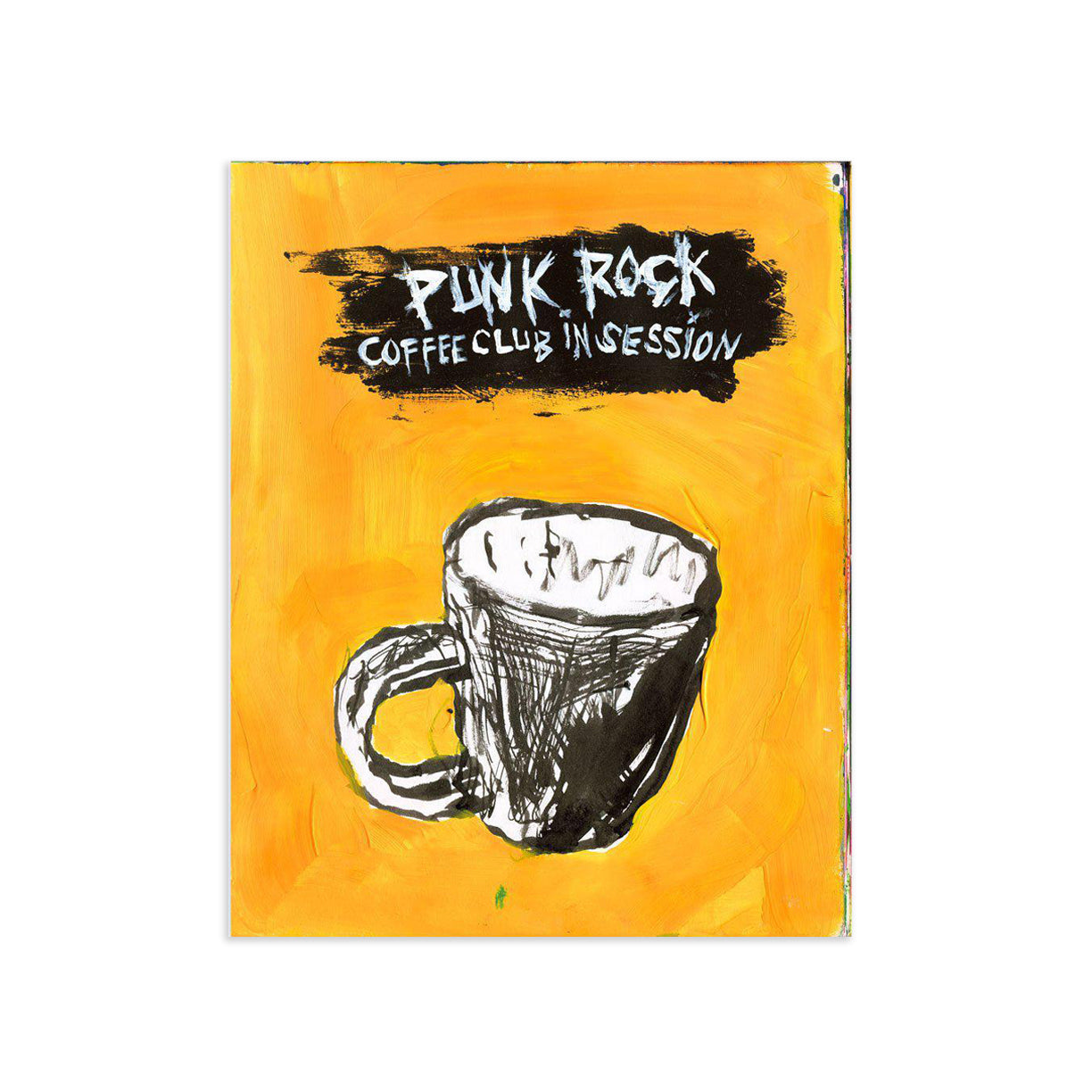 Punk Rock Coffee Club by Tim Armstrong | Archive | Poster Child Prints