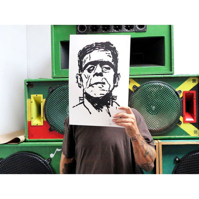 Monster - Archive, Tim Armstrong, archive | Poster Child Prints