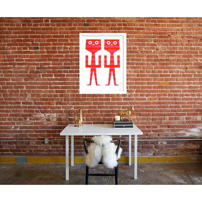 Tim Biskup | Poster Child Prints | Calli Twins