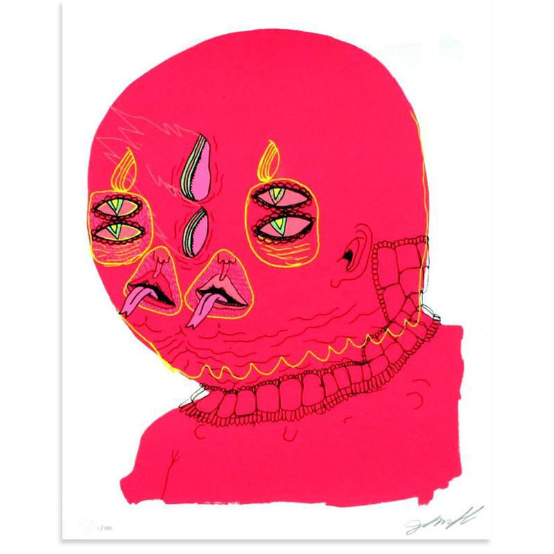 Untitled (Pink Head) - Archive