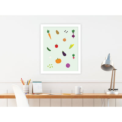 Veggie Stand by PCP Collection | Print | Poster Child Prints
