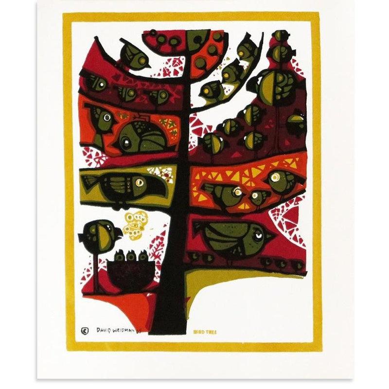 Bird Tree, mini by David Weidman | Print | Poster Child Prints