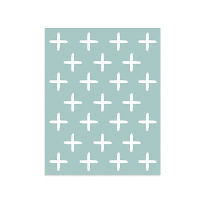White Crosses by PCP Collection | Print | Poster Child Prints