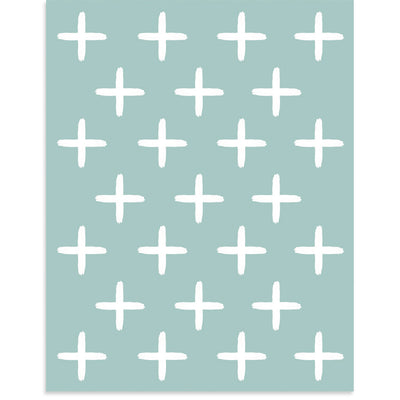White Crosses, PCP Collection | Poster Child Prints