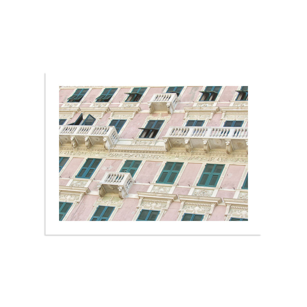 Windows of Liguria by PCP Collection | Print | Poster Child Prints