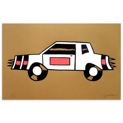 Yor Car by Jesse Spears | Print | Poster Child Prints