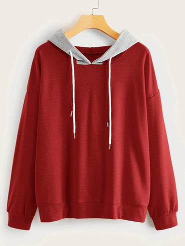 2 In 1 Drop-Shoulder Hoodie