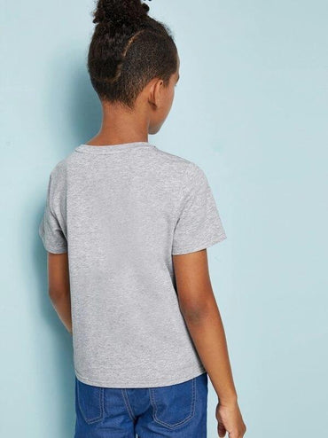 Boys Cut And Sew Short Sleeve Tee
