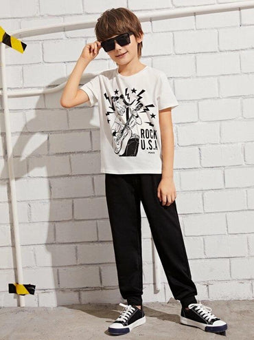 Boys Graphic Print Tee