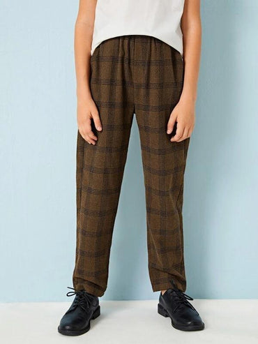 Boys Slant Pocket Carrot Pants
