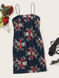 Women Geo Print Bodycon Dress