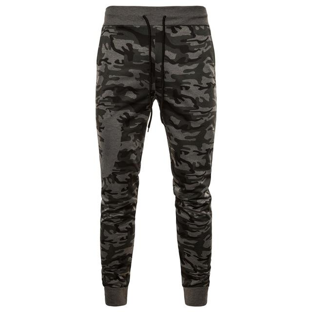 Men Camouflage Fashionable Feet Casual Pants