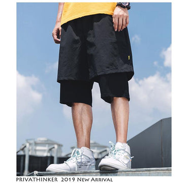 Men Streetwear Cool Style Casual Hip Hop Shorts