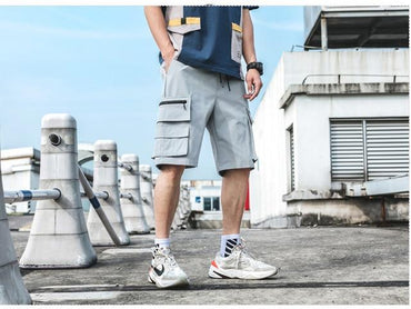 Men Streetwear Hip Hop Jogging Casual Shorts