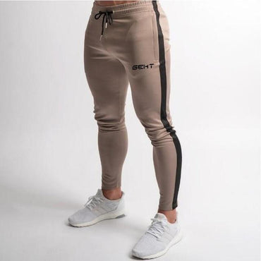 Men's Brand Design Fitness Casual Elastic Camouflage Joggers Pants