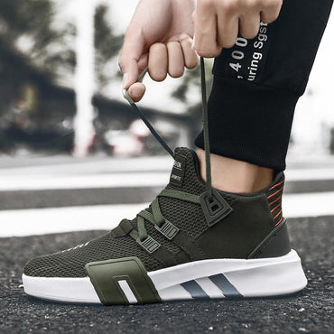 Hot Fashion Trendy Breathable Upper Lining Non-slip Sole Sneakers