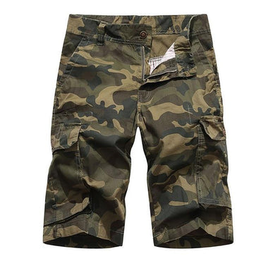 New Design Men Pockets Military Camouflage Cargo Shorts