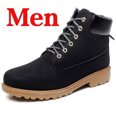 Men Boots New Arrival Lace Up Anti-slip British Style Ankle Boots