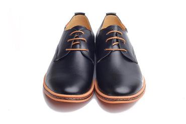 Men Dress Shoes Fashion Round Toe Comfortable Oxford Shoes