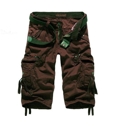 Fashion Men Camouflage Loose Cargo Shorts