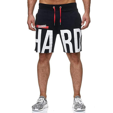 New Fashion Men Cotton Elastic Breathable Gyms Shorts
