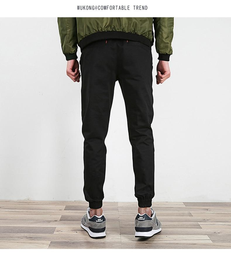 Hot Selling Men Fashion Streetwear Lightweight Joggers Pants