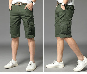 Men Military Style Streetwear Cargo Shorts
