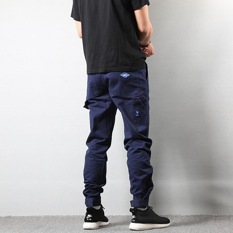 Vintage Fashion Streetwear Men Leisure Big Pocket Cargo Pants
