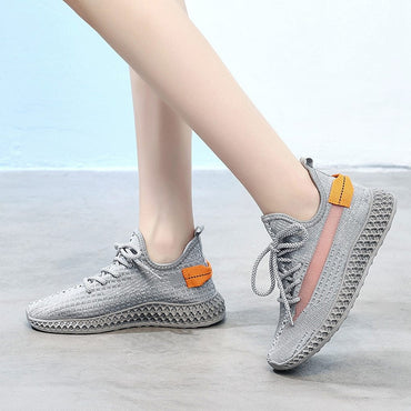 Women Soft Foundation Multicolor Platform Breathable Sneakers
