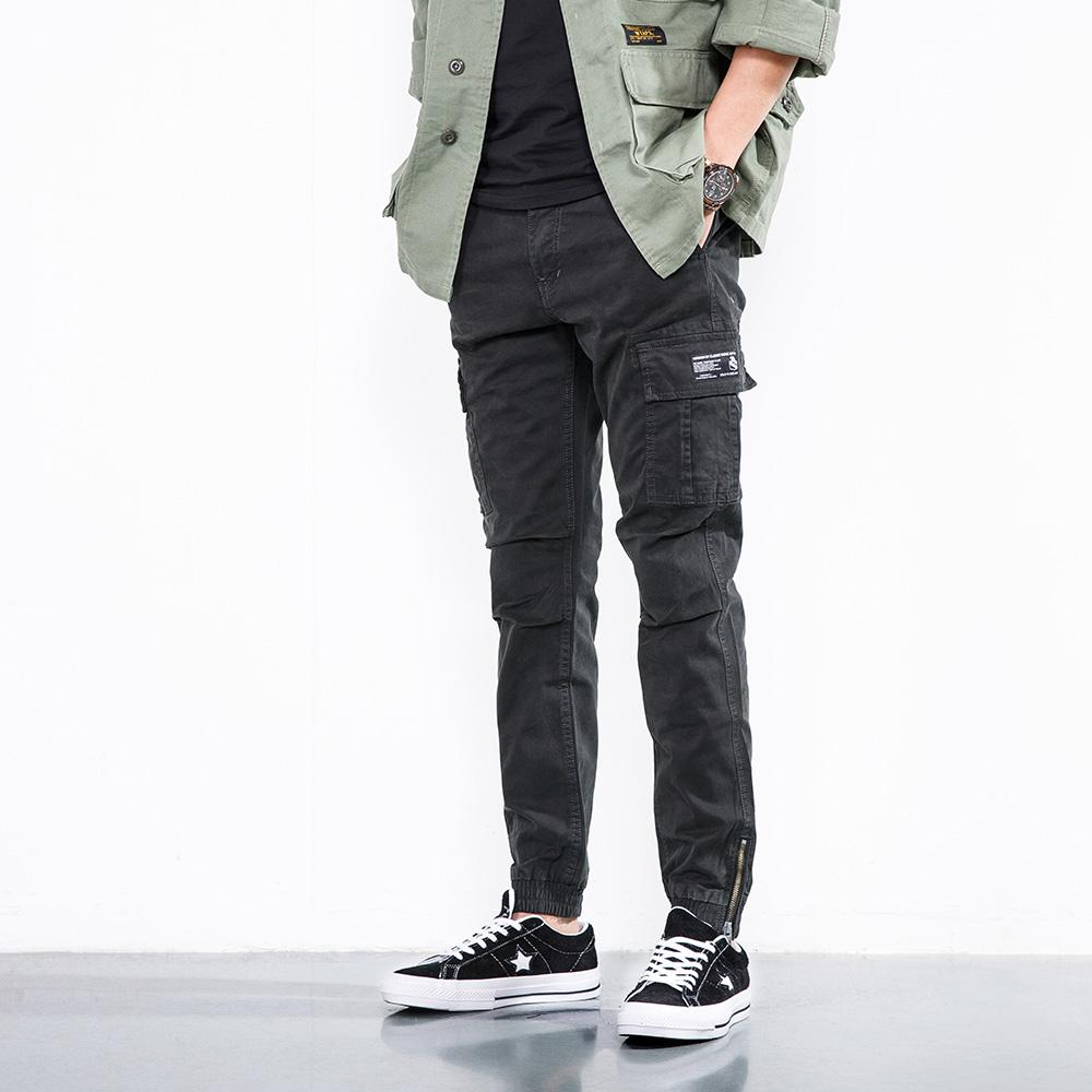 Fashion Men Cargo Pants Hip Hop Casual Streetwear Sweatpants