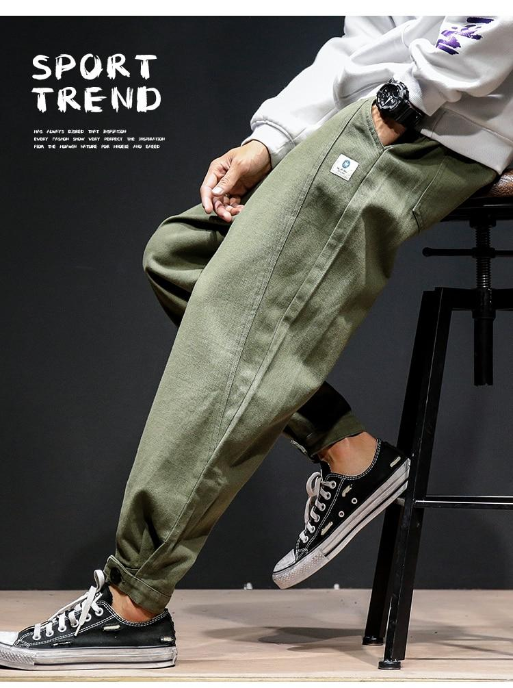 Men Joggers Brand Design Casual Elastic Sweatpants