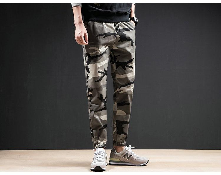 New Arrival Men Casual Slim Fit Cotton Jogger Pants