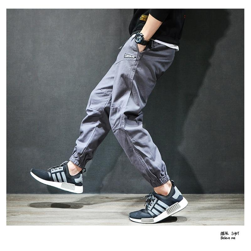 Fashion Streetwear Men Leisure Jogger Hip Hop Jeans
